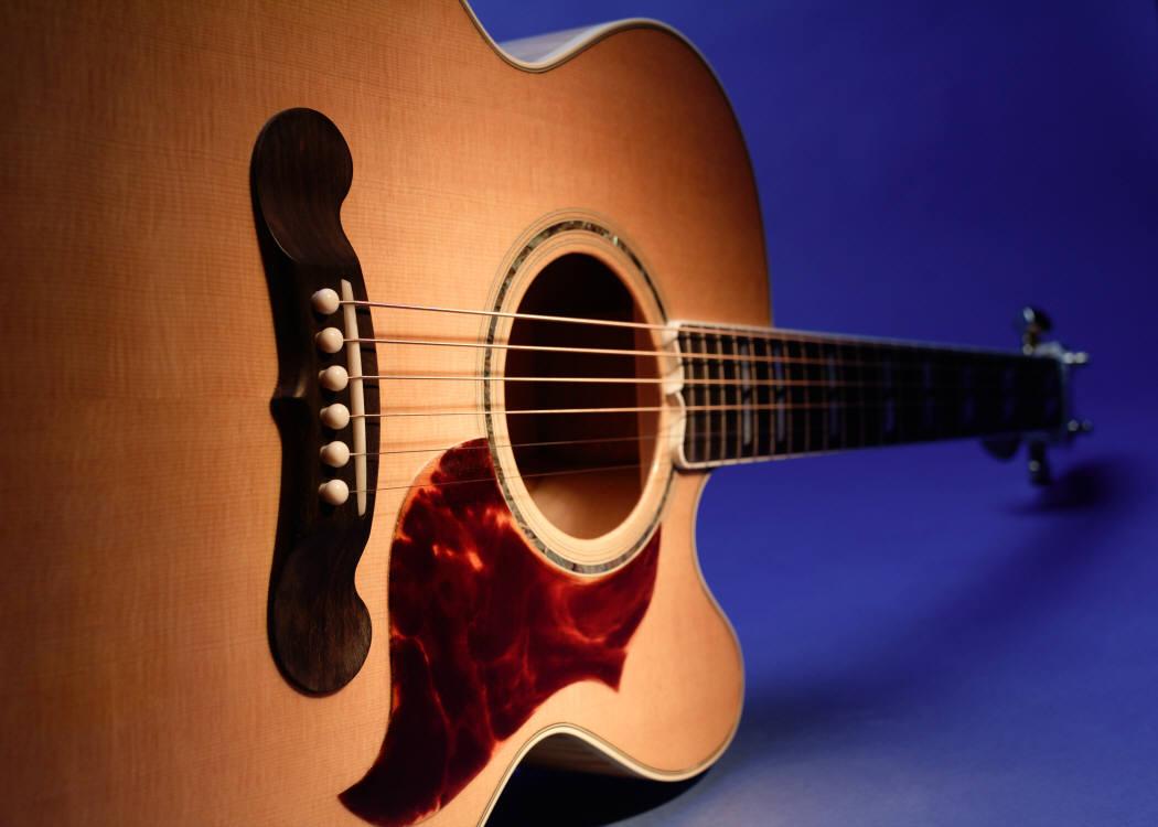 guitar blue
